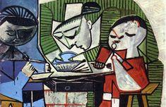 1953 Pablo Picasso-le-dejeuner