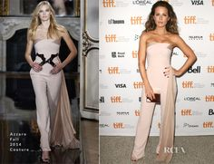 Kate Beckinsale In Azzaro Couture – 'The Face Of An Angel' Toronto Film Festival Premiere