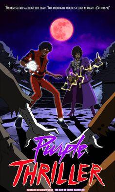Purple Thriller is here! Get your very own Purple. Michael Jackson Memes, Michael Jackson Wallpaper, Michael Jackson Album Covers, Chill, Black Comics, Hip Hop Art, Black Artwork, The Jacksons, Roger Nelson