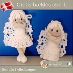 Here's some free pattern on crocheted ornaments .what better way to get in Christmas holiday spirit than crocheting your. The post The Perfect DIY Crochet Christmas Ornaments With Free Pattern appeared first on The Perfect DIY. Crochet Diy, Crochet Amigurumi, Manta Crochet, Amigurumi Doll, Crochet Crafts, Crochet Dolls, Crochet Projects, Cotton Crochet, Crochet Christmas Ornaments