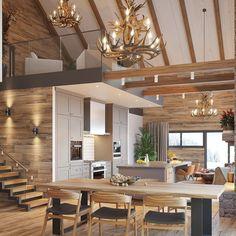 Anderstam fjäll hus i samarbete med Jens Byggmark.