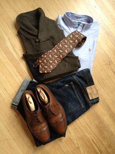 Today's kit. Sweater: Daniel Bishop, circa 2004,...