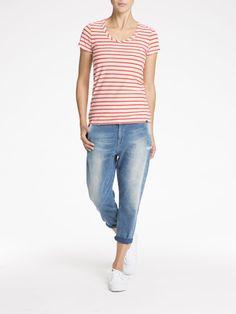 Cotton Jersey T-Shirt  T-shirt s/s Woman Clothing at Scotch & Soda