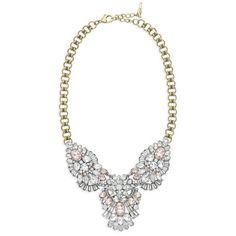 Celestial Frost Statement Necklace $148 #Freeshipping for all $100 + orders. #freestuds for all $125+ orders. Shop online 24/7 at my online boutique NOW  https://www.chloeandisabel.com/boutique/ursulaball#21042  #candiholiday #Holidays2014 #Christmas #shopping #blackfriday #perfectgift #convertible #statementnecklace