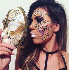 Carnival, Halloween Face Makeup, Beauty, Fashion, Character, Moda, Fashion Styles, Carnavals, Carnivals