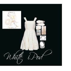 White iPod by kristenaviles on Polyvore featuring polyvore, fashion, style, Candela, H&M, Jack Black and Beats by Dr. Dre