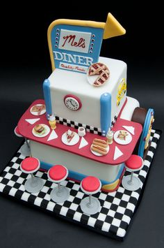 diner cake - Google Search                                                                                                                                                                                 More
