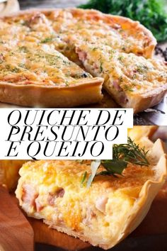 Quiches, Great Recipes, Favorite Recipes, Quiche Lorraine, Cupcakes, Empanadas, Caramel Apples, Brunch, Good Food