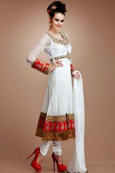Anarkali Suits 2014-2015 | Latest Designer Anarkali Suits On-line - FASHIONPAB