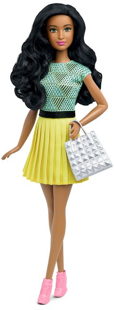 Barbie® Fashionistas™ 34 B-Fabulous Doll & Fashions - Original