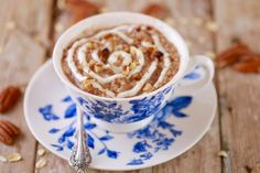 Microwave Cinnamon Roll Oatmeal in a Mug (Microwave Mug Breakfasts)