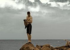 Western most coastal shoreline of The United States. Kauai.