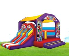 Interactive Sports Jumping Castle