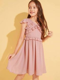 girl dresses – Page 9 – gagokid Fashion Kids, Girl Fashion, Fashion Outfits, Tee Dress, Belted Dress, Cord Pinafore Dress, Types Of Sleeves, Dresses With Sleeves, Baby Girl Dresses