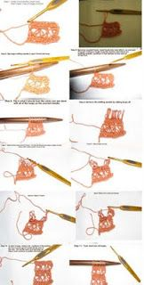 Broomstick Lace Crochet.