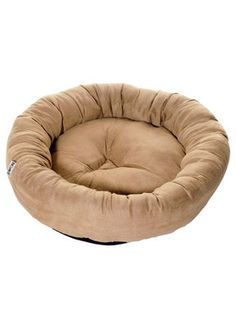 It's never too late to give kitty a gift. Kakadu Pet Plump Donut Bolster Bed in Sand at Trixan Pet Australia for only $47.99 #cats #sleeping #bed