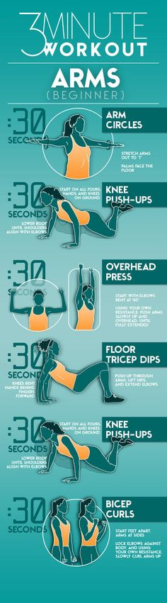 Easy 3-Minute Arm Exercises