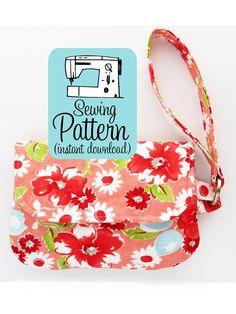 Image of Fold Over Zip Wristlet PDF Sewing Pattern