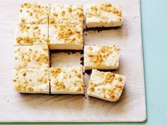 Healthy No-Bake Peanut Butter Cheesecake Bars : The best part of these creamy, sweet-and-salty bars is the crust: Melted chocolate and just a little bit of butter make it crunchy without baking. Plus, you can skip the full-fat sour cream in the cheesecake layer. Buttermilk adds just the right tang.