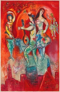 Marc Chagall - Carmen 1966