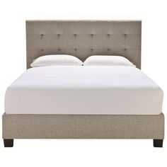 Marlo King Bed Pendle Oatmeal