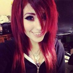 Wow if only my hair cud b this red