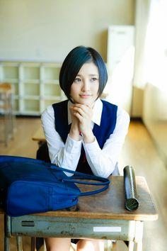"HEBIROTE AKB48 - Photos Videos News: HKT48 Haruka Kodama ""Sotsugyo"" on WPB Magazine School Uniform Girls, Nagoya, Osaka, Hkt48, Video News, My Wish List, Yamamoto, Japanese Girl, Idol"