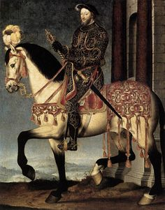 16thcentury:    missfolly:    Portrait of Francis I, King of France, byFrançoisClouet, ca. 1540