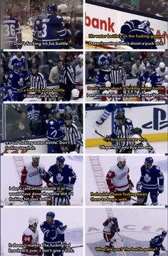 Hockey: a sport where grown men will fight endlessly about a water bottle