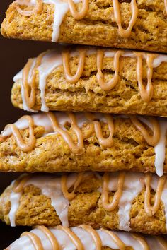 Pumpkin Scones Starbucks Copycat - Cooking Classy :: switch out the all-purpose flour for whole wheat, spelt, or freshly milled flour and youve got a scrumptious real food treat! Pumpkin Scones Starbucks, Pumpkin Recipes, Fall Recipes, Holiday Recipes, Breakfast Recipes, Dessert Recipes, Scone Recipes, Yummy Treats, Yummy Food