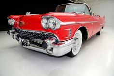 1958 Cadillac Series 62 Convertible Frame Off, AC Automatic Convertible