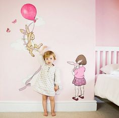 Brand new Belle & Boo for nursery walls - http://babyology.com.au/nursery/brand-new-belle-boo-for-nursery-walls.html