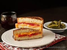 Ib�rico ham adds a deep, savory flavor to this sophisticated take on the sandwich.Get the recipe at�Kitchen Confidante.  -Cosmopolitan.com