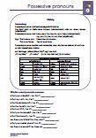 #Possessive #pronouns Arbeitsblätter und Übungen mit Lösungen zu Possessive pronouns im Englischunterricht. •Kreuzworträtsel Worksheets and #exercises with solutions about possessive pronouns in English lessons • #Crossword •Translation •Complete sets •Make sentences in the correct  •Übersetzung •Sätze vervollständigen •Schüttelsätze •Lückentexte  Die Arbeitsblätter können unabhängig vom Schulbuch verwendet werden.  Ein Grammatik Merkblatt + 10 Arbeitsblätter + 5 Lösungsblätter
