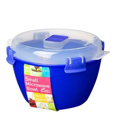Look what I found on #zulily! Blue 5-Cup Microwave Bowl #zulilyfinds