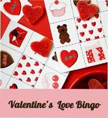 FREE Valentine's Day Bingo
