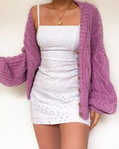 We found your outfit Shop 'Solid Button Front Cable Knit Cardigan'… – Beauty Coupons Girly Outfits, Retro Outfits, Classy Outfits, Stylish Outfits, Cool Outfits, Fashion Outfits, Guy Fashion, Simple Outfits, Ladies Fashion