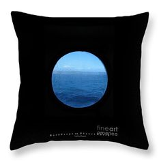 """Raindrops On Planet Earth"" Throw Pillow 14 x14 by Linda Prewer.  Multiple sizes available with or without inserts.  From £19.00 Watermark will not be on printed pillow. #pillow #cushion #earth #raindrops #planet"