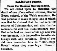 Genealogical Gems: On This Day: Salisbury remembers George Boots