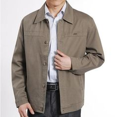 d8d974946079a Mens Casual Button Up Jacket Mens Modern Clothing