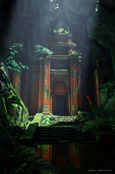 ArtStation - [UE4] Lost Temple Ruins, Jonas Axelsson