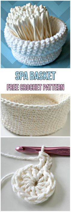 Spa Basket Free Croc