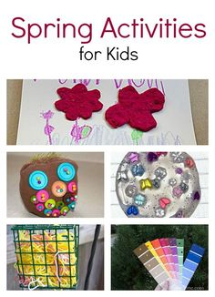 5 Fun Spring Crafts and Activities for Kids - My Little Me