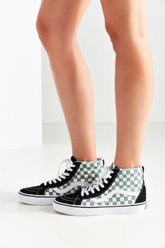 Vans Sk8-Hi Reissue Checkerboard Sneaker