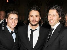If you're ever feeling left out just remember James and Dave Franco have a 3rd brother named Tom