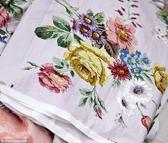 Sarah collected vintage fabrics long before she was on TV. She and a group of vintage trader friends now hold fairs in her barn. Her favourite place for sourcing stock is Ford Airfield car boot sale (fordairfieldmarket. co.uk) near Arundel. 'Now I've finished filming the TV show I'm itching to get back to some treasure hunting,' she says. See Sarah's makes at sarahmoorehome. co.uk and visit etsy.com for more vintage fabrics
