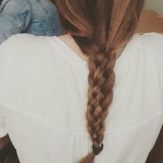 I've done this hairstyle for my classmate, when we both were bored in school.