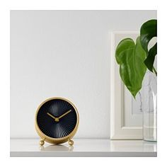 IKEA - SNOFSA, Clock, No disturbing ticking sounds since the clock has a silent quartz movement.Highly accurate at keeping time as it is fitted with a quartz movement.