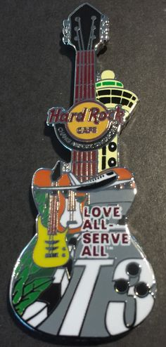 Hard Rock Cafe Gitarre Pin