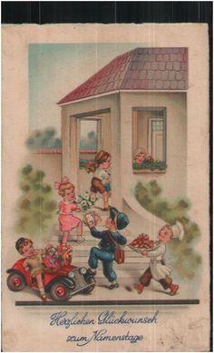 ak bube als postbote mit gelds cken gl cksklee gl ckliches neujahr 1910 ebay new year. Black Bedroom Furniture Sets. Home Design Ideas